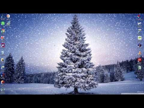 Set Live Wallpaper : Snowfall