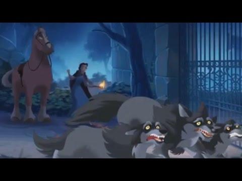 Красавица и чудовище 2017 Приключения в Лесу Новый мультфильм игра для детей Часть 2