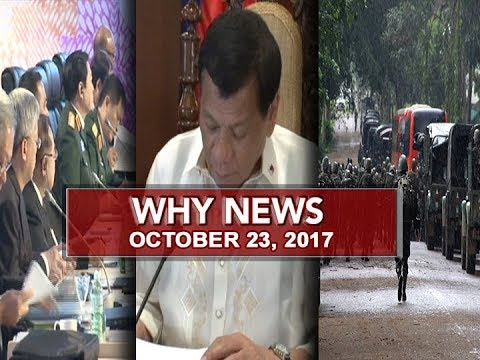 UNTV: Why News (October 23, 2017)