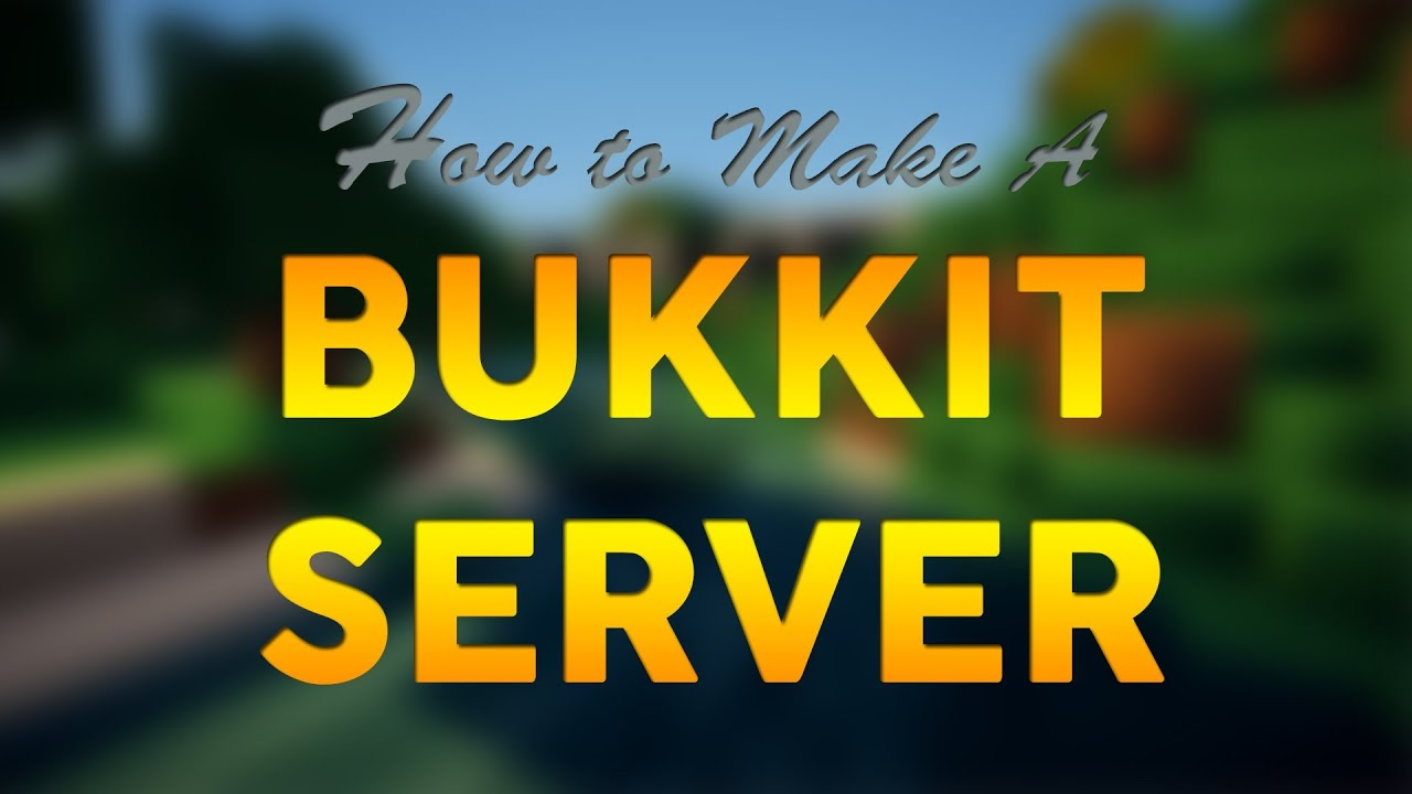 how to make a minecraft server 1.9