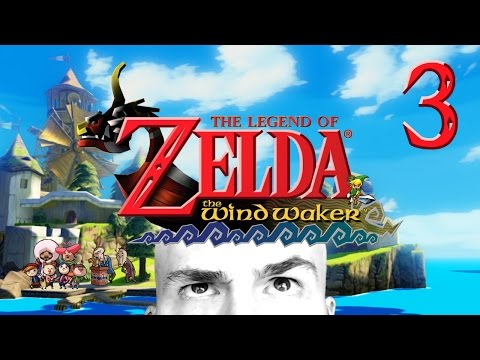 Wind Waker Walkthrough - P3 - Forsaken Fortress and Windfall