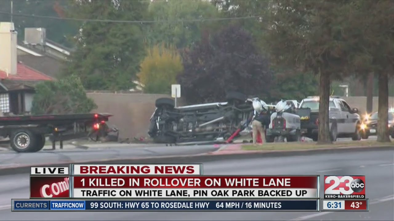 1 killed in crash at White Lane and Pin Oak Park Blvd