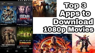 Top 3 apps to download Hollywood movies