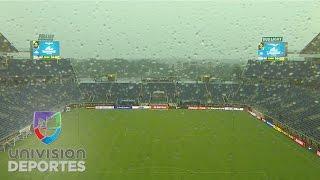 Ventisca y lluvia intensa caen sobre Orlando previo al Panamá vs. Bolivia