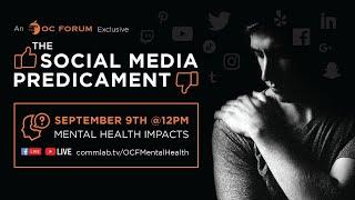 The Social Media Predicament E3: Mental Health Impacts