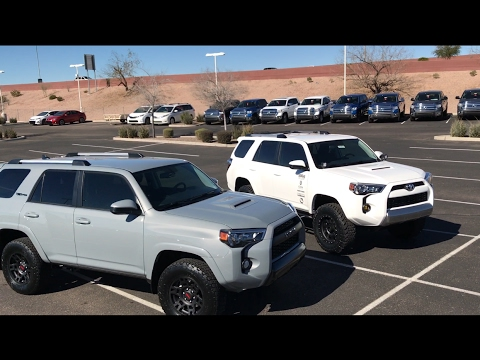 2017 toyota 4runner trd pro vs 4runner trail bro edition youtube. Black Bedroom Furniture Sets. Home Design Ideas