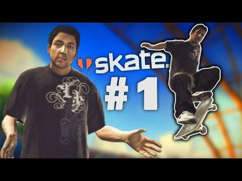 Is That Paul Rodriguez!? | SKATE 1: Let's Play! Episode 1 (Playthrough/Story)