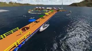 Sarana Wisata Terapung Aquatec Nusa Penida 2018