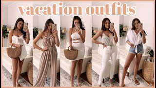 Vacation Outfit Ideas ?  (try-on haul w/Lulus)