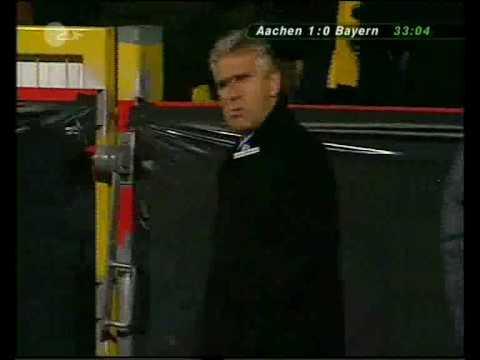 DFB Pokal 2004: Alemannia Aachen - Bayern München 2:1 (Stefan Blank) DFB-Pokal