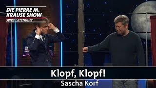 """""""Klopf, Klopf!"""" mit Sascha Korf"""