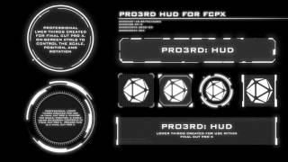 Pixel Film Studios - Pro3rd HUD - HUD Lower Thirds - Final Cut Pro X FCPX