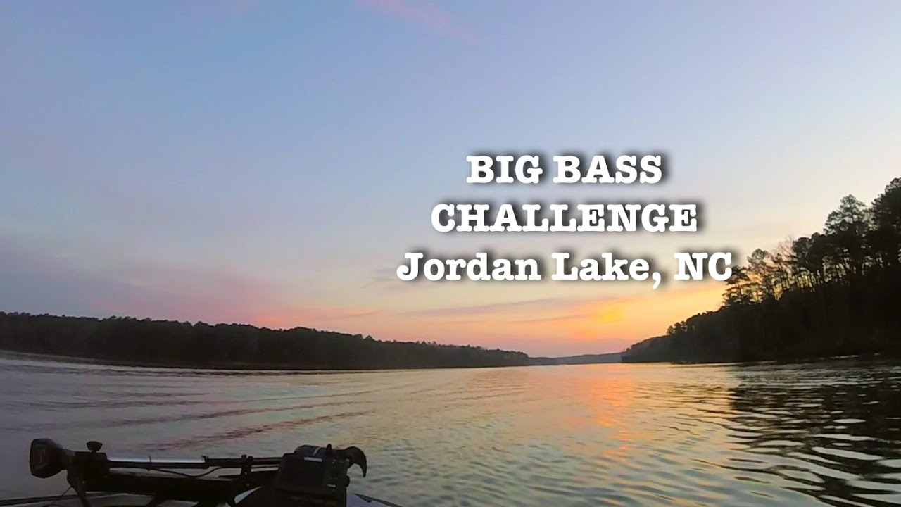 Jordan lake bass fishing challenge youtube for Jordan lake nc fishing