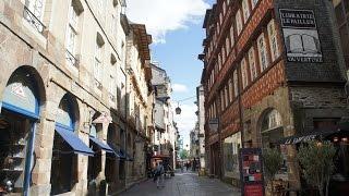 世界一周のんびり旅行記 No11. フランス・レンヌ(découvrir Rennes)