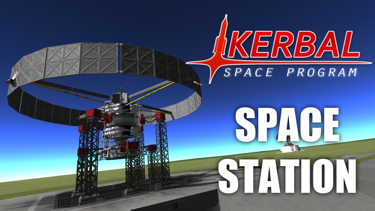 Artificial Gravity Space Station (Kerbal Space Program)