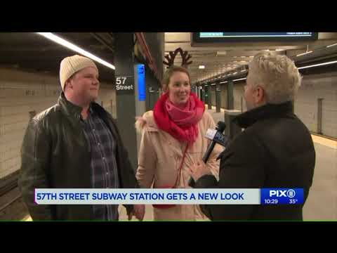 Most recent subway remodel opens along the F line in Manhattan