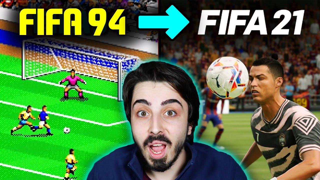 TÜM FIFA OYUNLARININ DEĞİŞİMİ // FIFA 94 - FIFA 21
