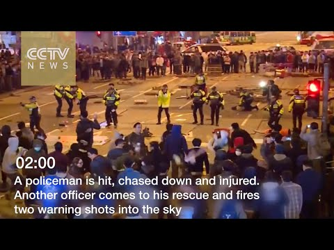 Footage shows what happened in Hong Kong riots