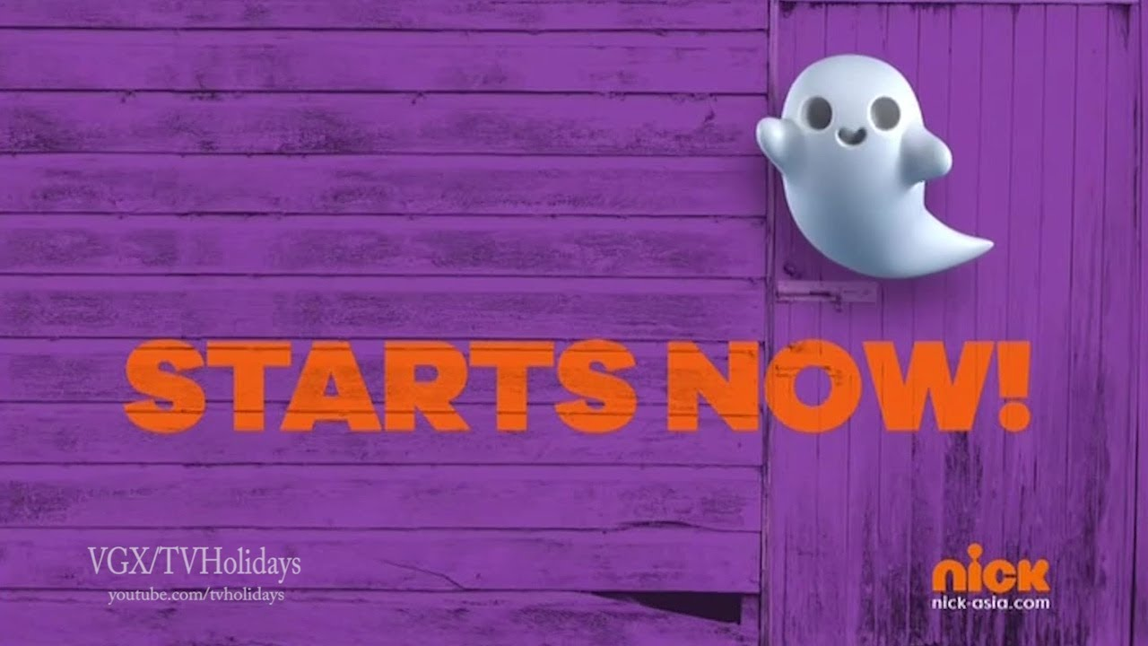Nickelodeon Asia Halloween Continuity and Ident 2018 ( ENG )