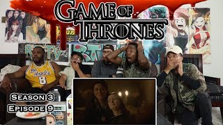 The Red Wedding 🤦🏽♂️⚔️ Game Of Thrones Season 3 Ep 9 Reaction/Review
