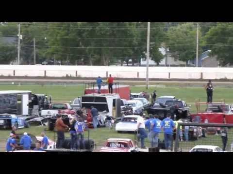 west liberty raceway late models heat 2 7/27/13