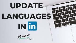 How to Update Languages on LinkedIn