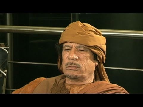 Libya's Leader Speaks Out