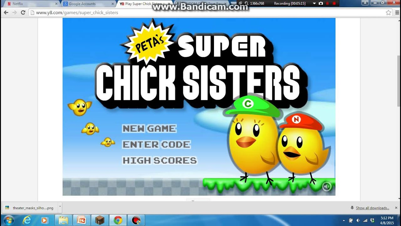 Super chick sisters y8