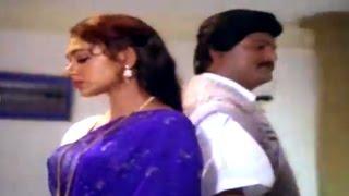 Alludugaru Movie || Shobana Slapping Mohan Babu Scene || Mohan Babu, Shobana