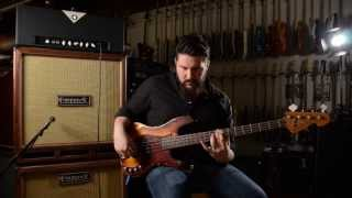 Divided By 13 Tbl 200 Bass Head & Sandberg Vm-4 Hardcore Aged 4-string Bass