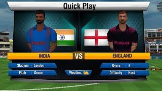 India Vs England | world cup 2019 | World Cricket Championship 2- WCC2 | SJAM Entertainments screenshot 4