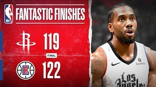 Kawhi CALLS GAME In Home Win Over Rockets!!