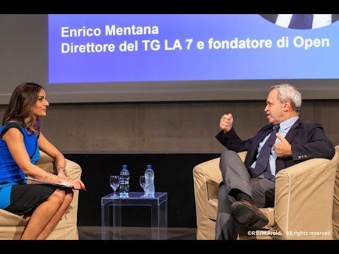 Enrico Mentana al #mediatechday di Lugano