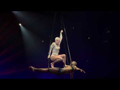 Pink - Secrets - P!NK Beautiful Trauma Tour - Indianapolis March 17, 2018
