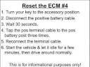 How to Reset the ECM
