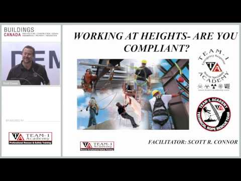 Working At Heights/Fall Protection - How To Be Compliant