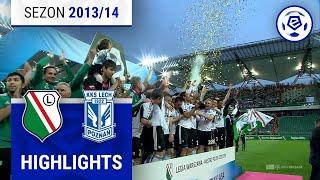 Legia Warszawa - Lech Poznań 2:0 [skrót] sezon 2013/14 kolejka 37