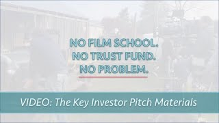 INVESTOR PITCH MATERIALS