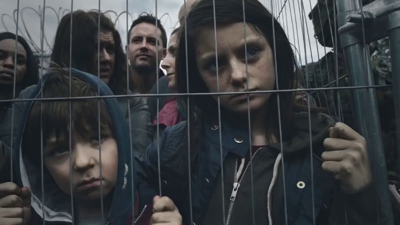 If Britain were Syria: Haunting video shows how war would