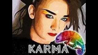 Culture Club -  (Boy George) - Karma Chameleon - 80's lyrics
