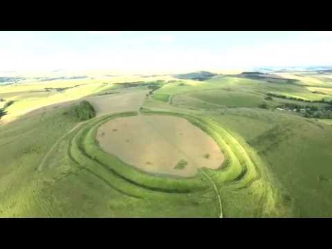 DJI Phantom 3 Advanced Drone, Barbury Castle Amazing footage.