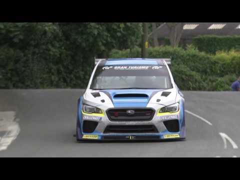 Subaru WRX TT Attack car smashes Isle of Man TT car lap record