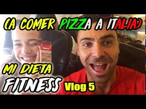 DIETA FITNESS en ITALIA || A COMER PIZZA & PASTA (MILAN VLOG 5)