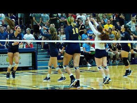 Cedarville University Volleyball vs. Ursuline College 9/23/17