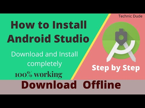 How To Download & Install Android Studio With SDK Offline 2020 - No Need To Wait Hours