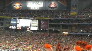"Eagle ""Challenger"" Flies at 2011 BCS Championship Game (AEF)"