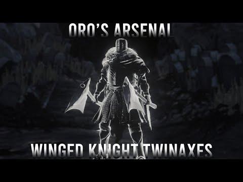 Dark Souls 3 - Oro's Arsenal: Winged Knight Twinaxes