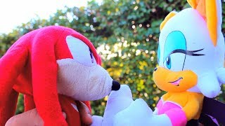 Sonic Plush Knuckles x Rouge