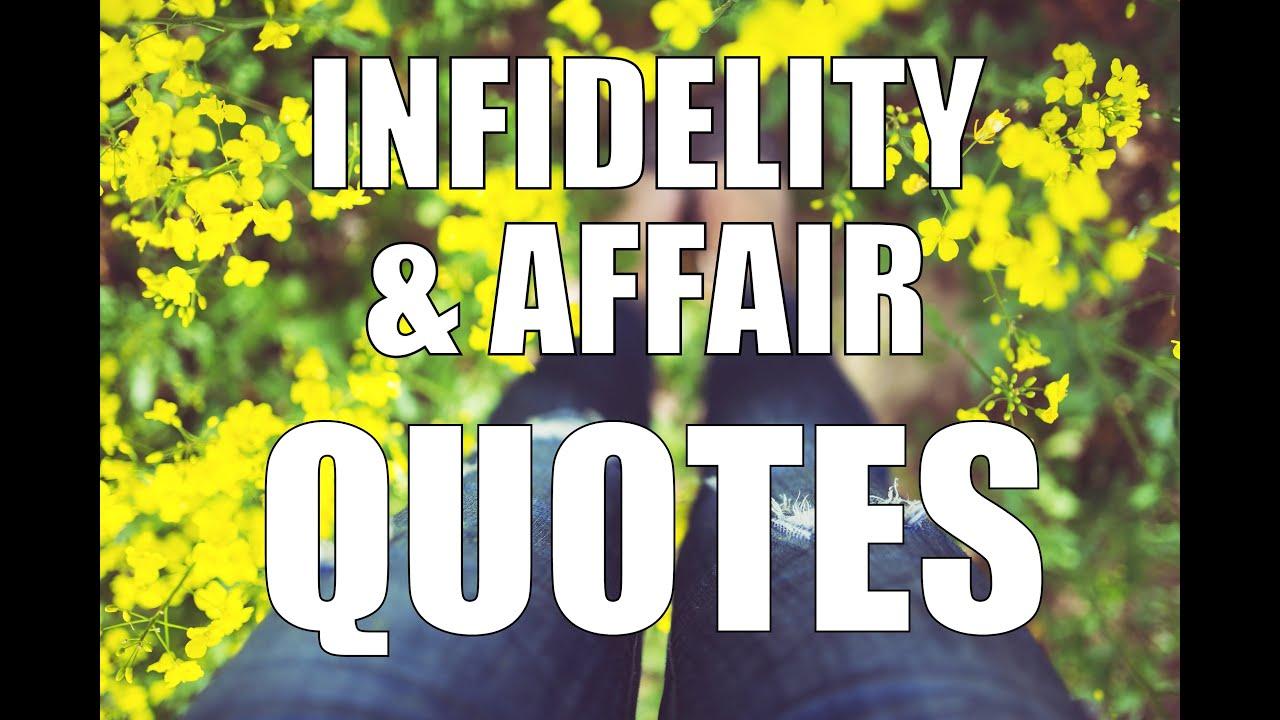 Affair & Infidelity Quotes