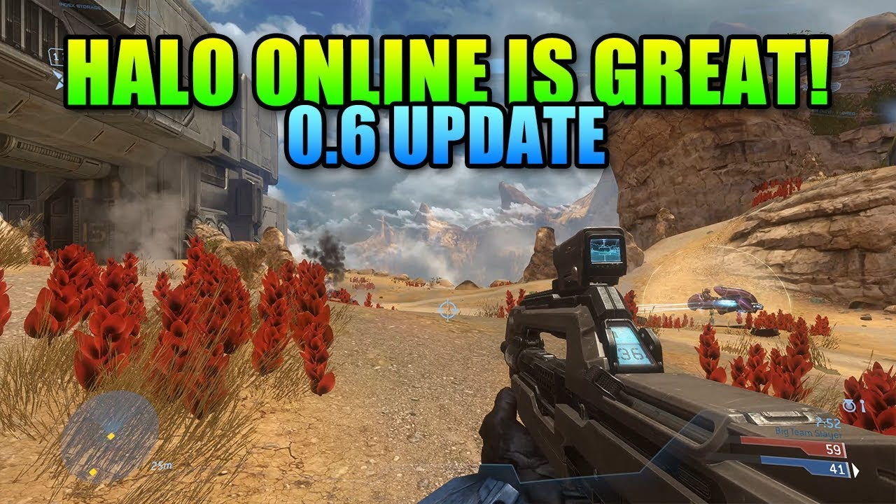 Halo Online Pc Mod Is Awesome Eldewrito 06 Youtube